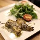 * Fegato D'oca - Goose liver (foie gras) with truffle cream  https://www.pocoloco.com.sg/reservation  Authentic Italian food at heartland price!