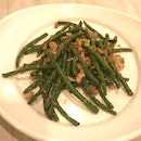 Stir Fried French Bean With Minced Meat