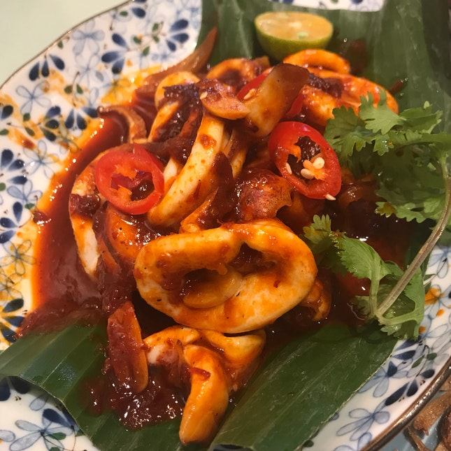 Sambal Sotong ($13.80)