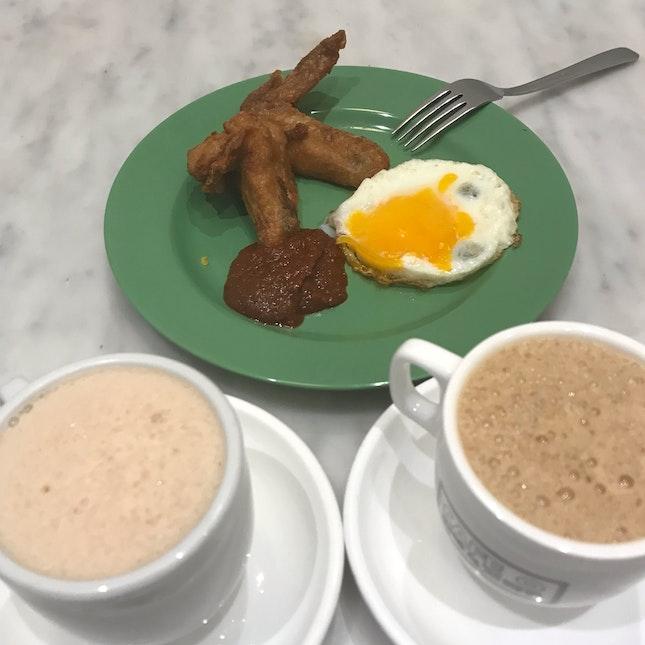 Chicken Wing & Fried Egg