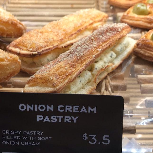 Onion Cream Pastry