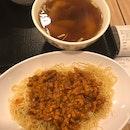 Set 3: Chili Meat Noodles With Dumpling Soup ($11.90)