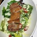 Grilled Chicken Salad With Mustard ($6.50)