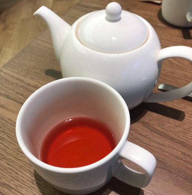 Hot Hibiscus Tea ($4.90)