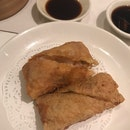 Deep Fried Bean Curd Skin Roll With Prawn