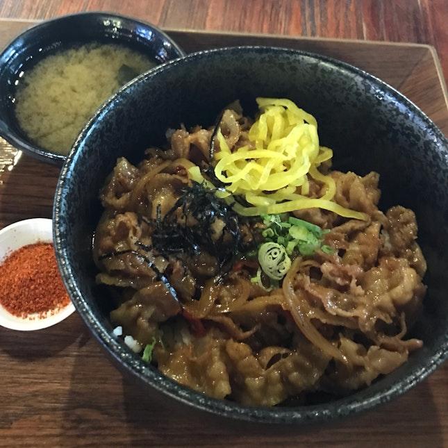 Pork Shogayaki ($10)