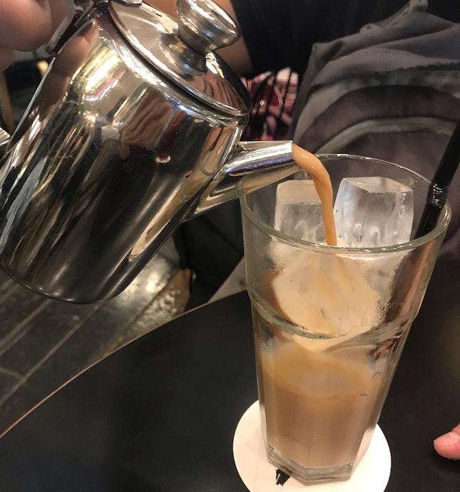 Iced Chai Latte ($8.50)