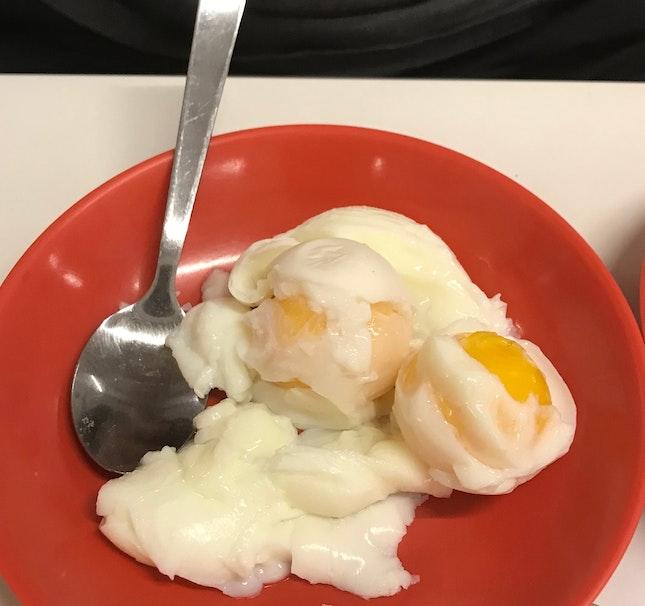 Soft Boiled Eggs ($1.80)