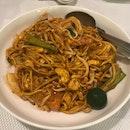 Seafood Mee Goreng ($14)