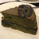 Green Tea Sesame Tahini Cake ($5)