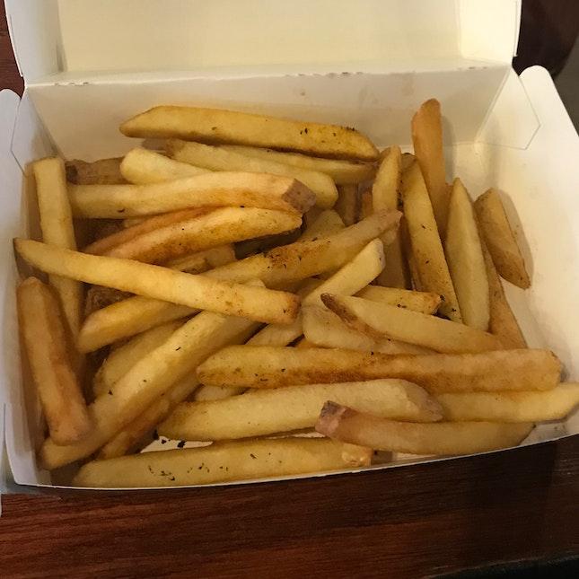 Plain Fries ($7)
