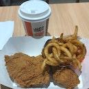 Golden Aroma Chicken Combo ($8.90)