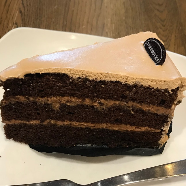 Milk Tea Choc Cake