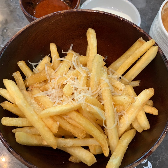 Black Truffle Fries ($11)