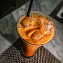 Thai Iced Milk Tea SGD 5.90++.
