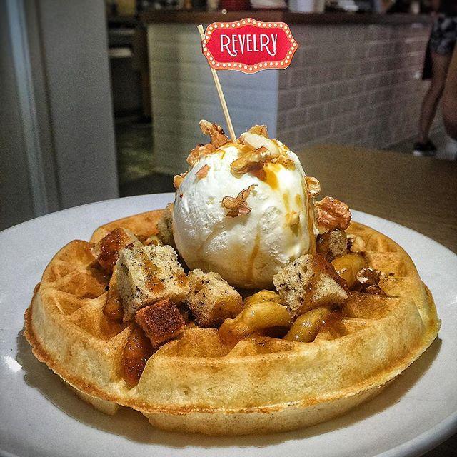 Monkey King (Banana Waffle) SGD 14 Nett from @revelry_sg .