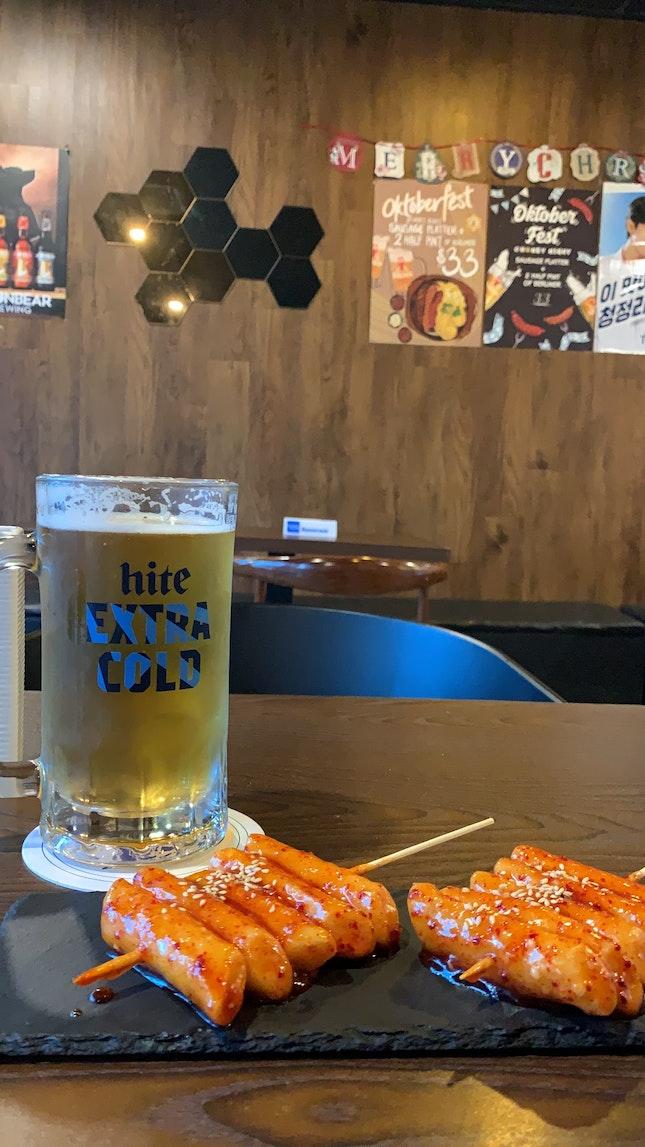 Honey Night (korean bar)