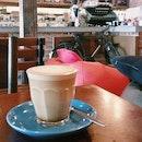Butterscotch Latte With Bike