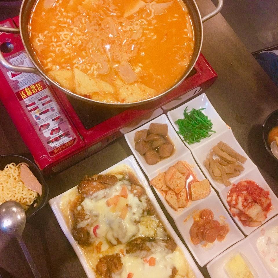 Bkt Timah // Korean Army Stew & Fried Chicken