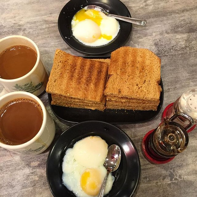 Start your day right with a good hearty breakfast ☕️🍳🍞