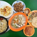 Hawker food tastes best when shared #foodforthree