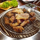 #Delicious Korean BBQ meats.
