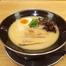 Creamy rich tonkotsu and tori broth for the soul.
