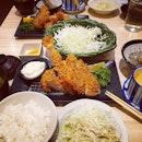 Happy 9th Anniversary to Saboten with 50% off their special gozen of #yummilicious tonkatsu.