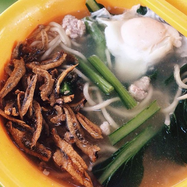 [Zhong Xing Ban Mian, Bedok Interchange] 9/10  I love a good bowl of ban mian, and this is the best that I've had!