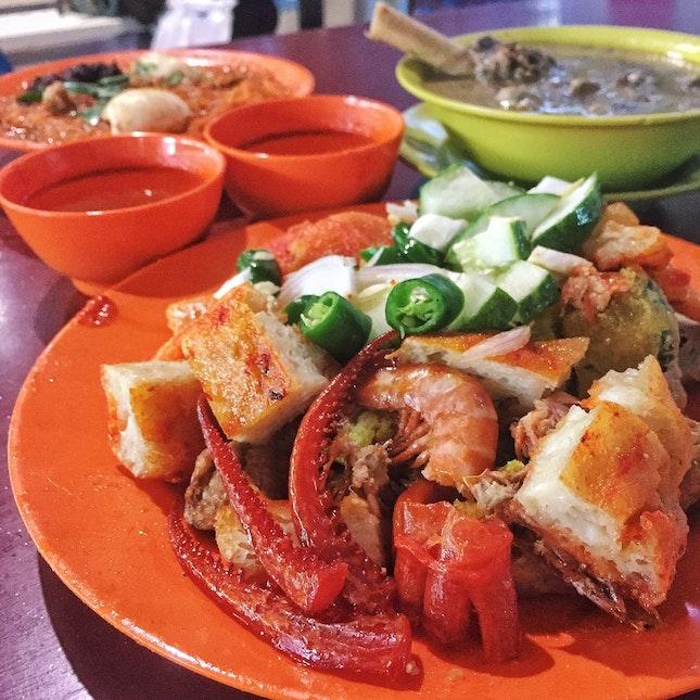 Siraj Indian Rojak & Mutton Soup