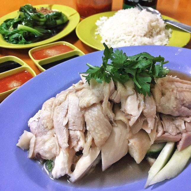 Half Chicken at Hainanese Delicacy🐓 ($18)