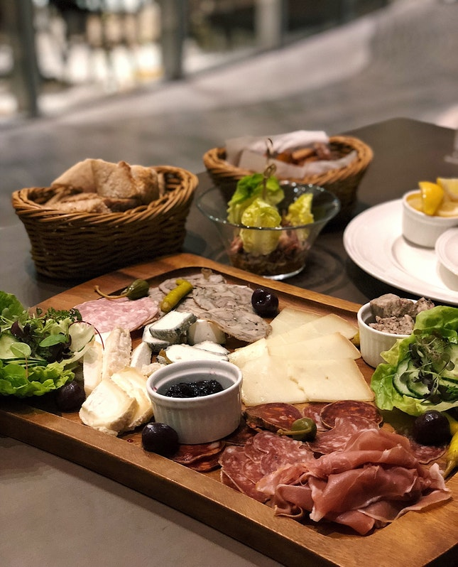 Assorted Cold Cuts & French Cheese Platter ($32)