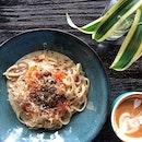 Garlic Carbonara ($17)