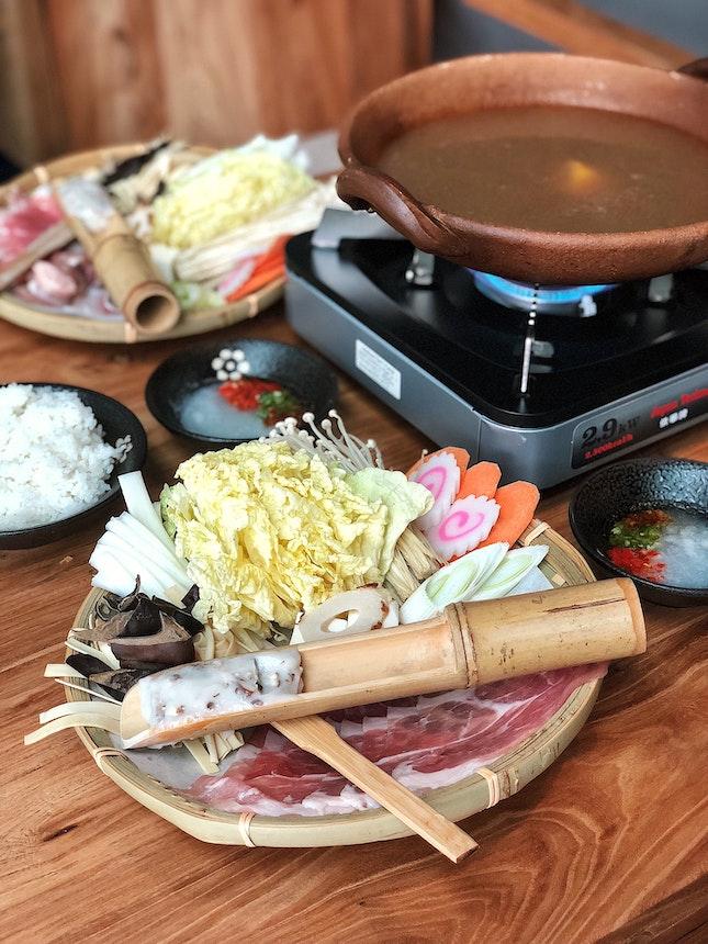 Signature Lunch Yuzu Shabu ($16)