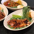 Double Grilled Chicken Jade Noodles ($5.90/Lunch Menu)