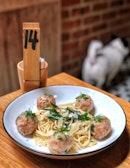Chicken Meatball Pasta ($13)