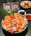 Happy Birthday Salmon Sashimi 🎂