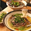 Ox Tongue w/ Rice Noodles in Vine Pepper Soup ($14.50)
