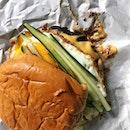 Buah Keluak Burger ($25)