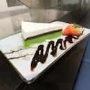 [Shin-Sapporo] Matcha Cream Cake ($8.80).