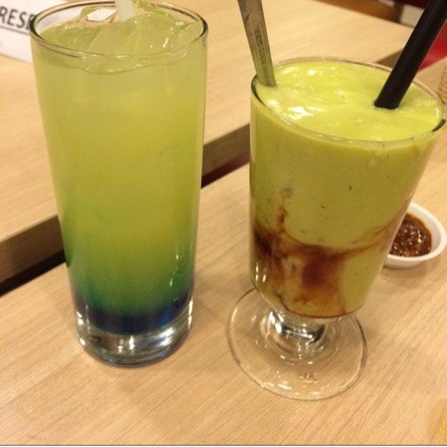 Blueberry & Avocado Juice
