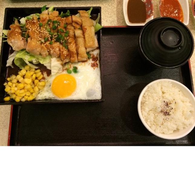 Teppanyaki Chicken Set