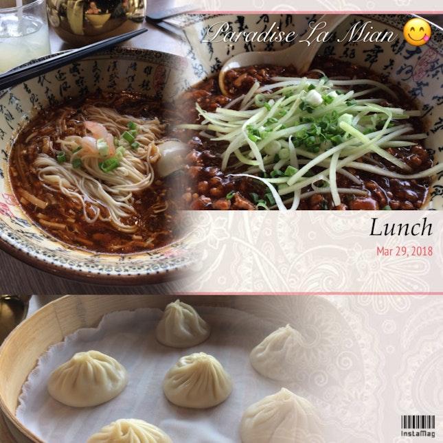 La Mian Lunch