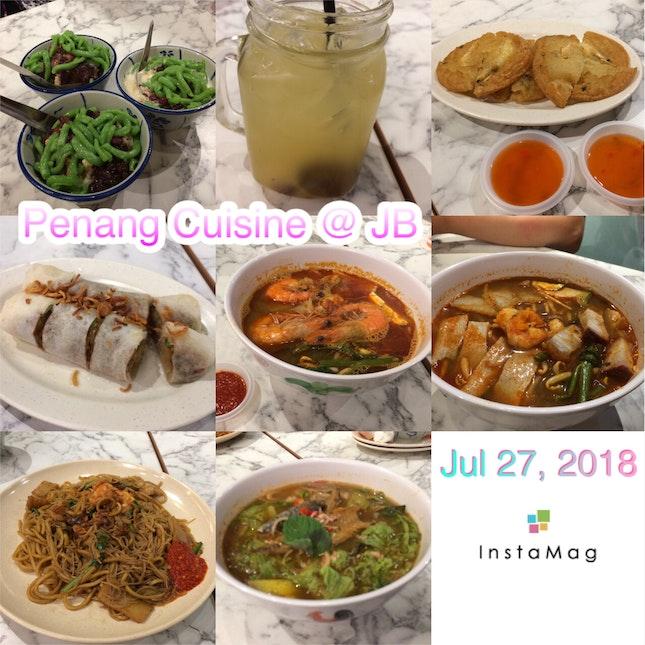 Penang Food in JB
