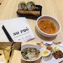 Pho Bo & Lemongrass Chicken Chop Rice