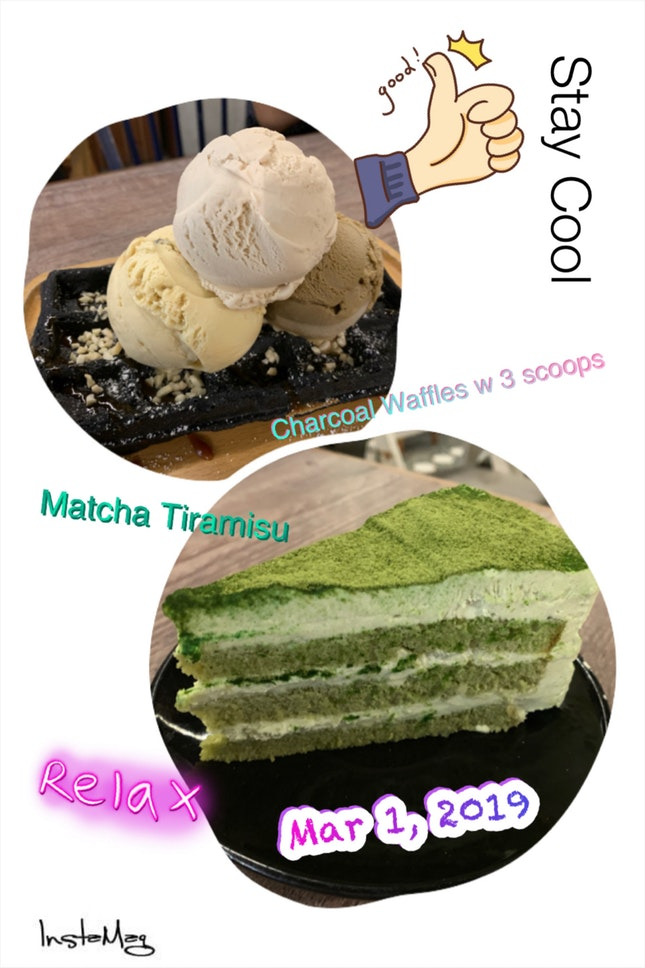 Ice-creams & cakes