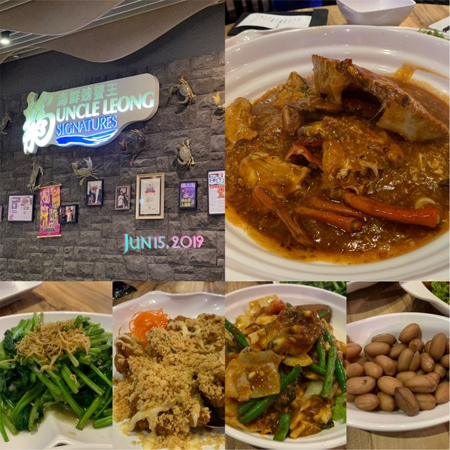 Seafood Dinner tonight 😜 Loves the chili crab 🦀 & Assam fish 🐟 😋👍