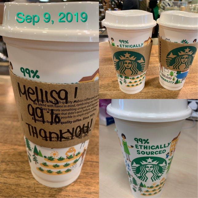 Coffee With Free Reusable Cup!