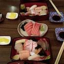 Thick Cuts Of Sashimi