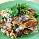 """They would get my vote for being the most """"hard to eat"""" Orh Luak stall in SG; but not necessarily the best tasting one."""